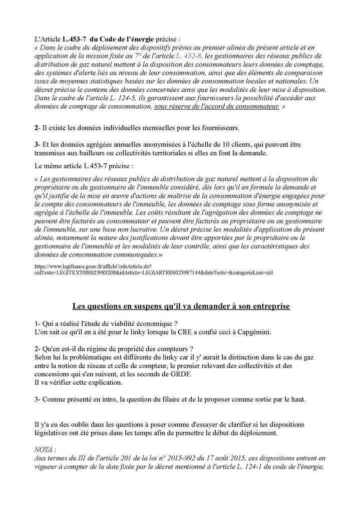 Villefranche-de-Rouergue : Compte rendu de la réunion du 13/03/18 avec le responsable Aquitaine Midi-Pyrénées du déploiement des Gazpar