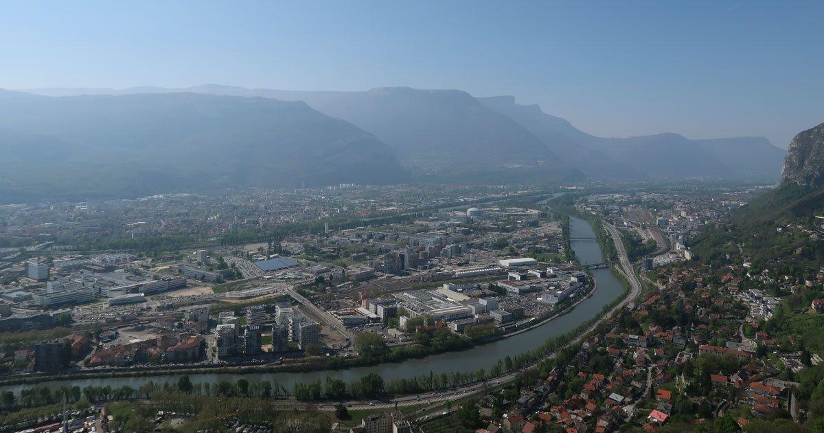 © PascalVue sur Grenoble
