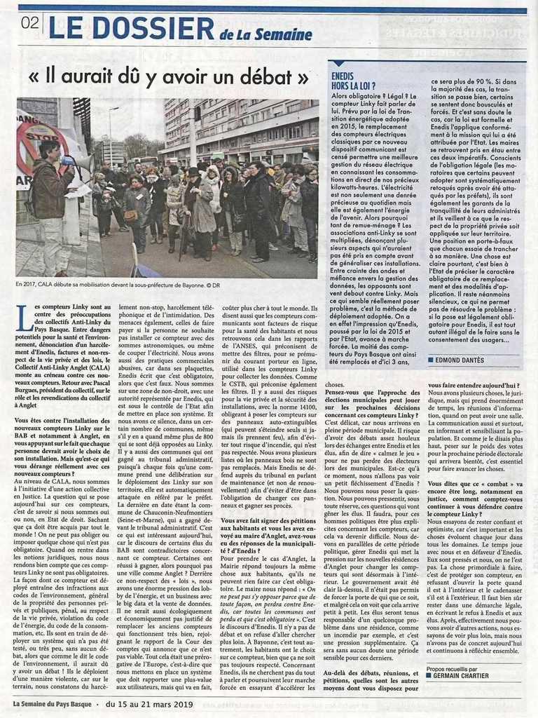 Compteurs Linky hors-la-loi ? Le Pays Basque fait de la résistance !