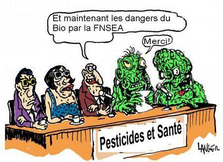 Pesticides : un nouveau rapport empoisonnant