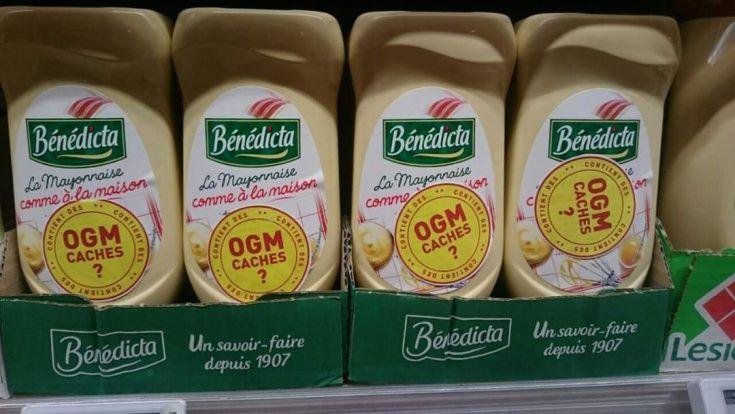 Etiquetage citoyen de produits OGM vendus illégalement