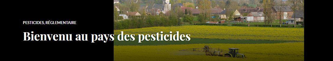 Bienvenu au pays des pesticides