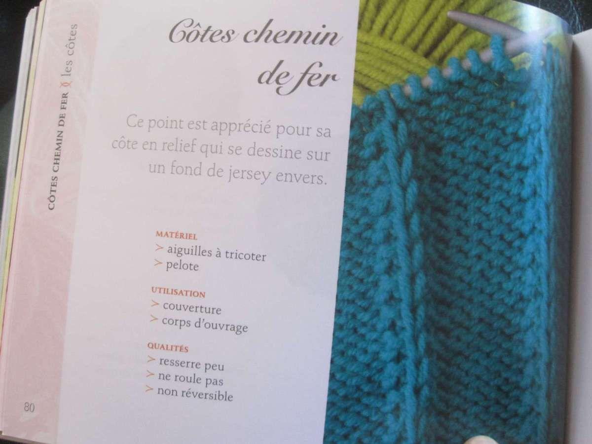 Un nouveau livre de points de tricot