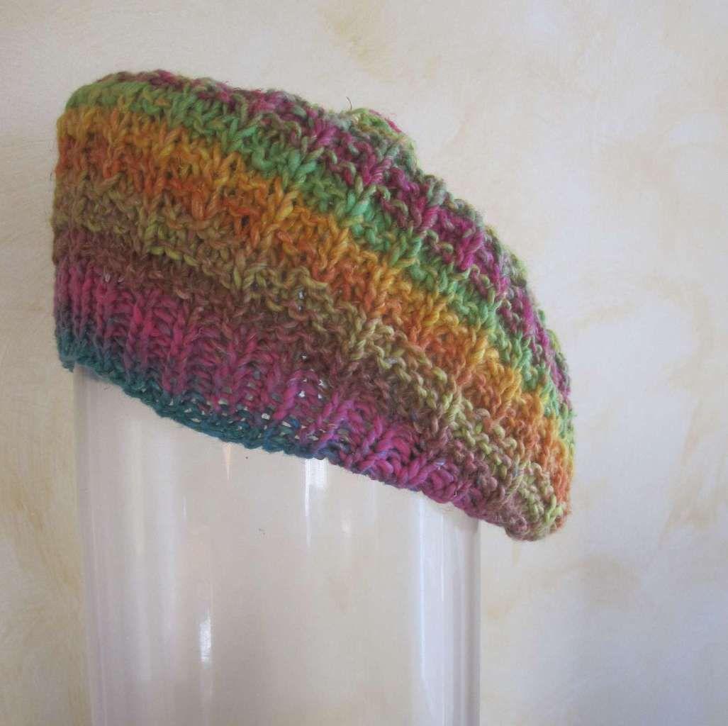 Bonnet 5, le dernier tricoté à ce jour...