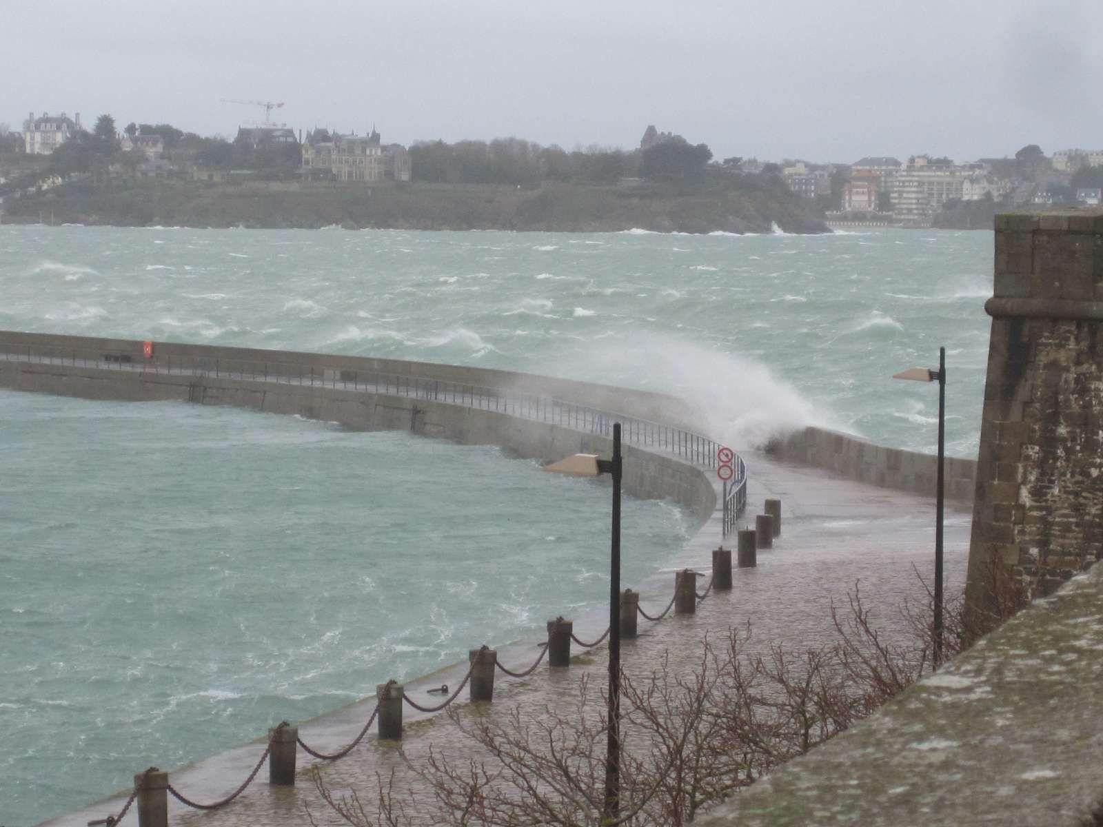 Saint-Malo en hiver