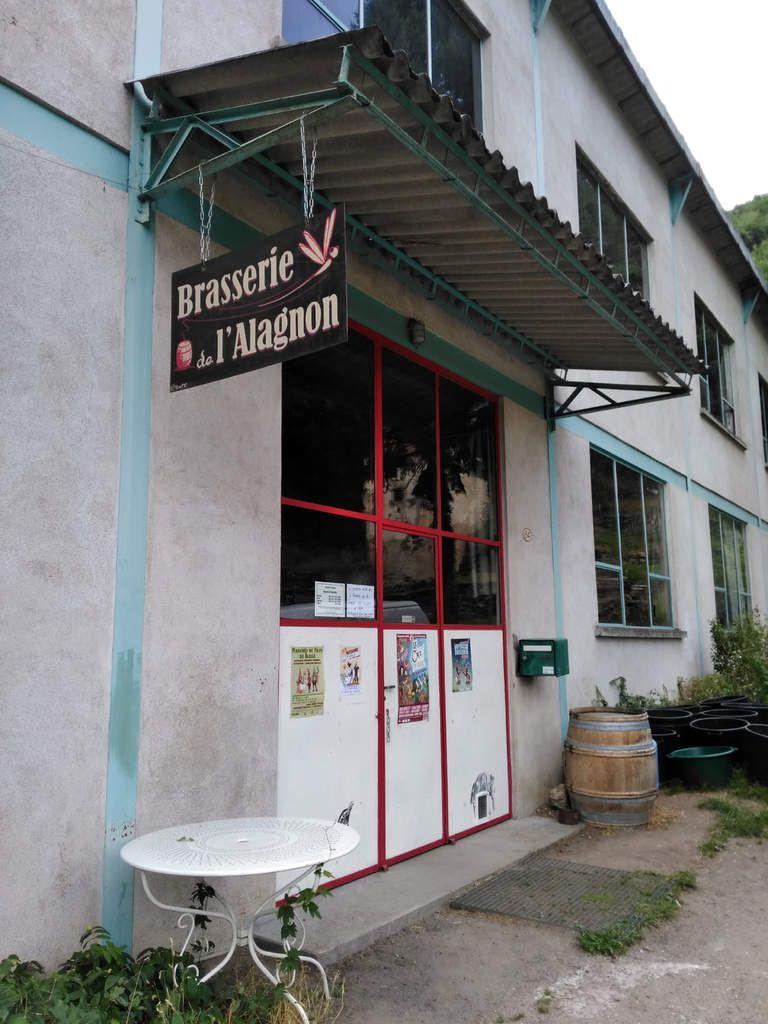 Brasserie artisanale de L'Alagnon dans le département de la Haute Loire