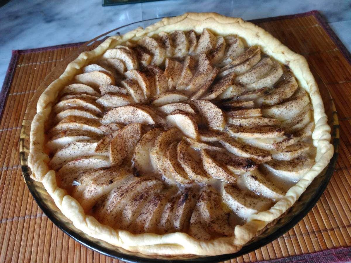 Tarte aux pommes de la ferme de Villars.