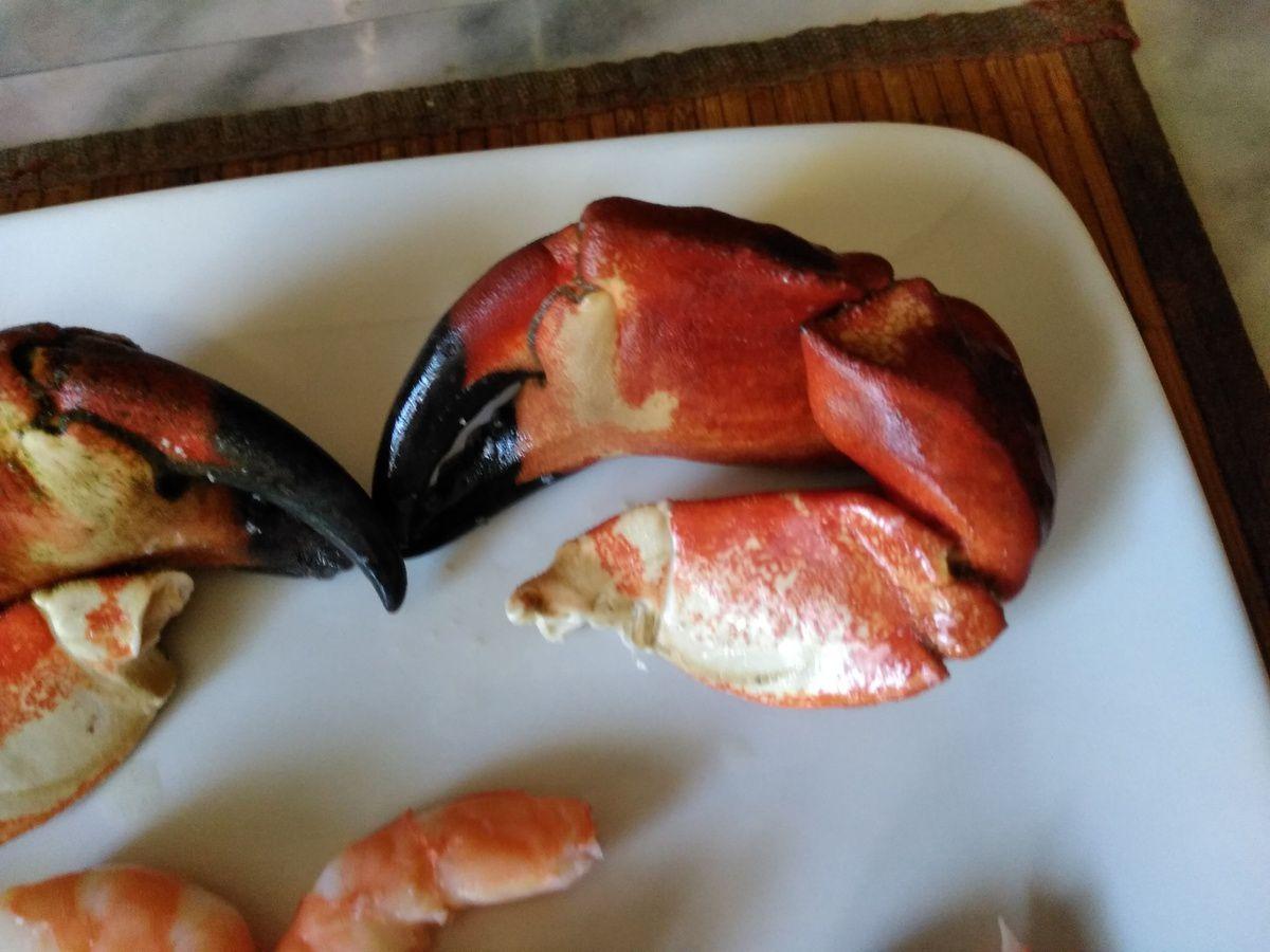 bisque de homard, crabe et crevette