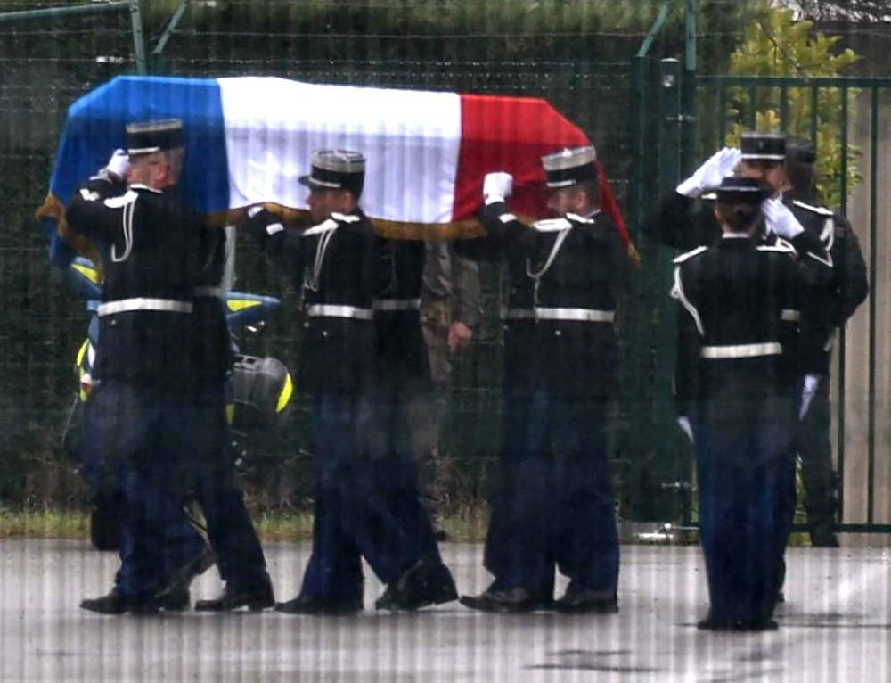 Hommage national au colonel Beltrame