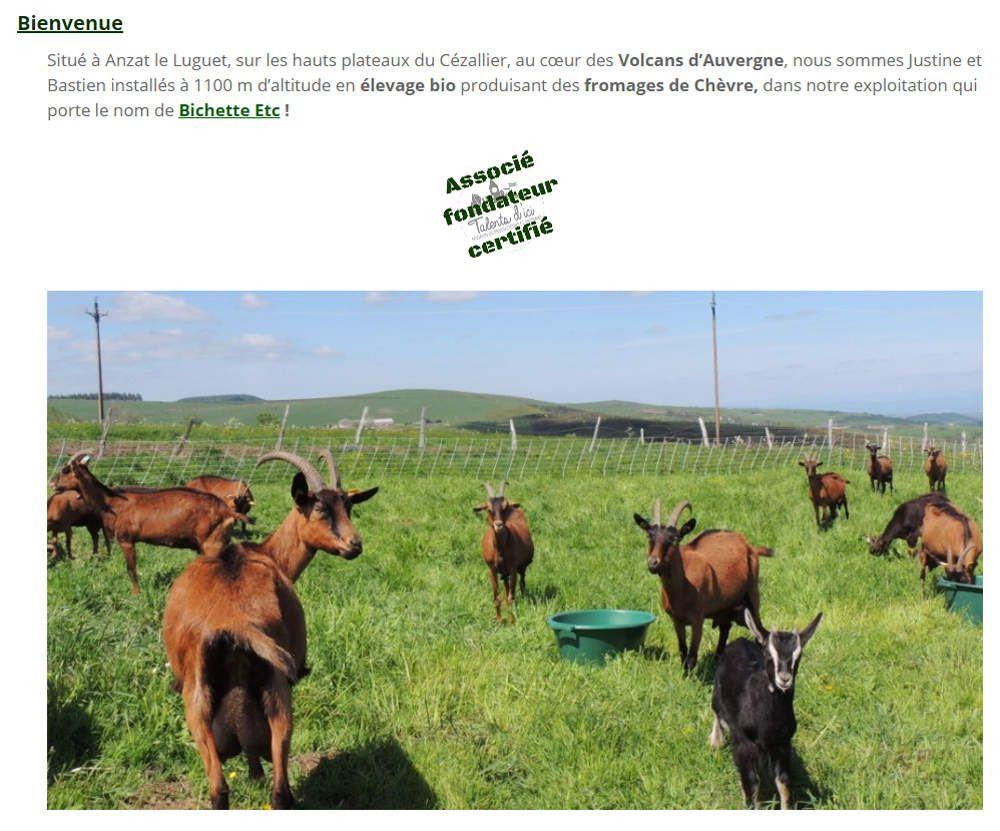 Talents d'ici - Coopérative de producteurs et artisans d'Auvergne