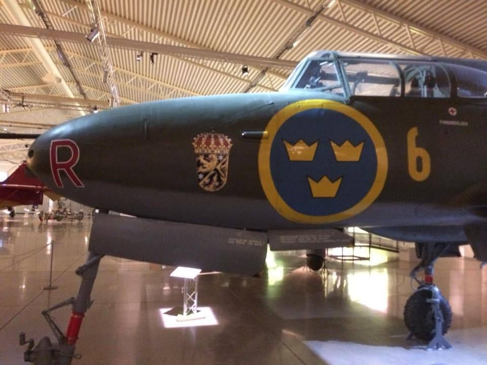 Musée de l'armée de l'air suédoise à Linköping