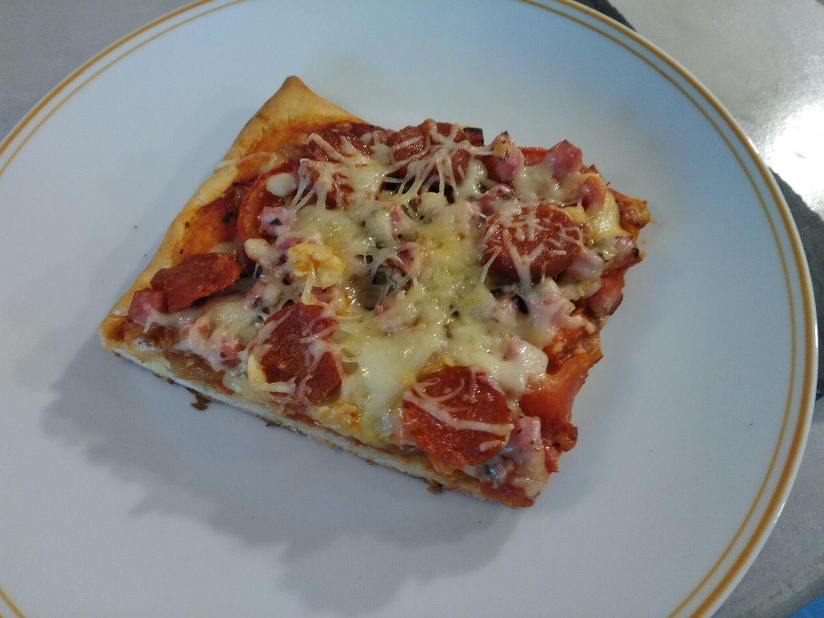 Pizza chorizo - jambon