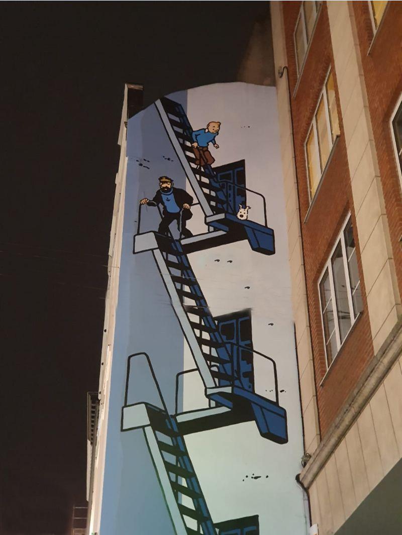 Bruxelles et son musée de la BD