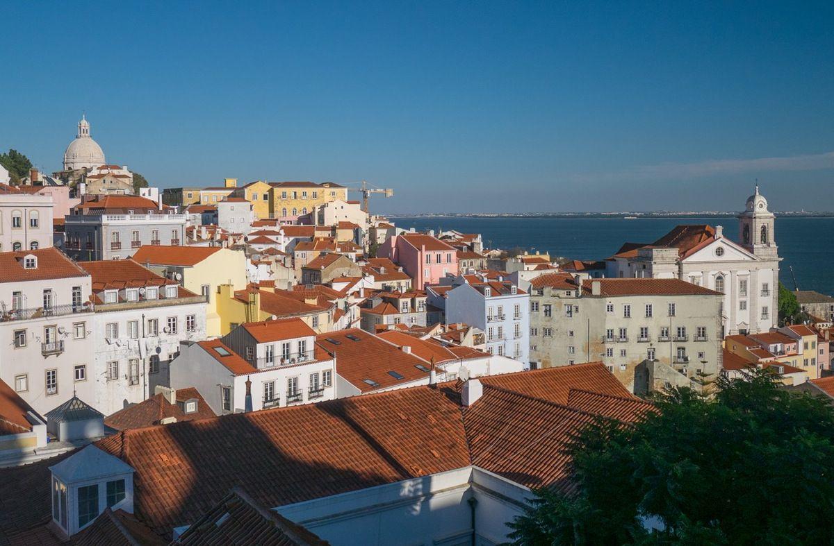 Vues du centre de Lisboa