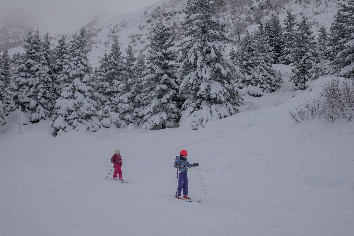 L'après-midi, c'est ski aussi