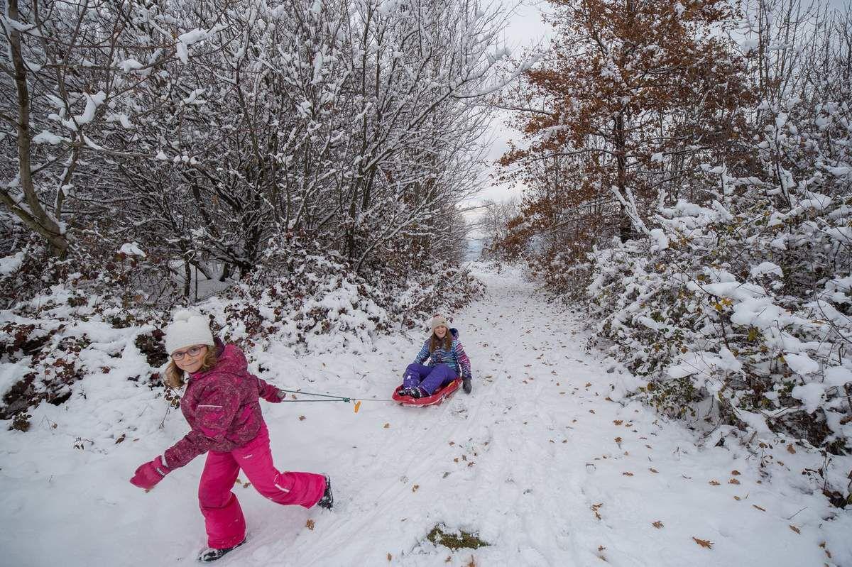 Bernin après les chutes de neige