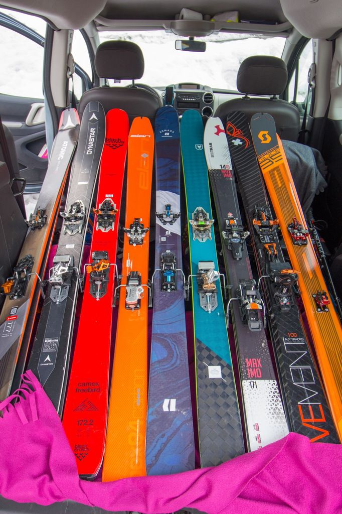 Tests skis, la suite