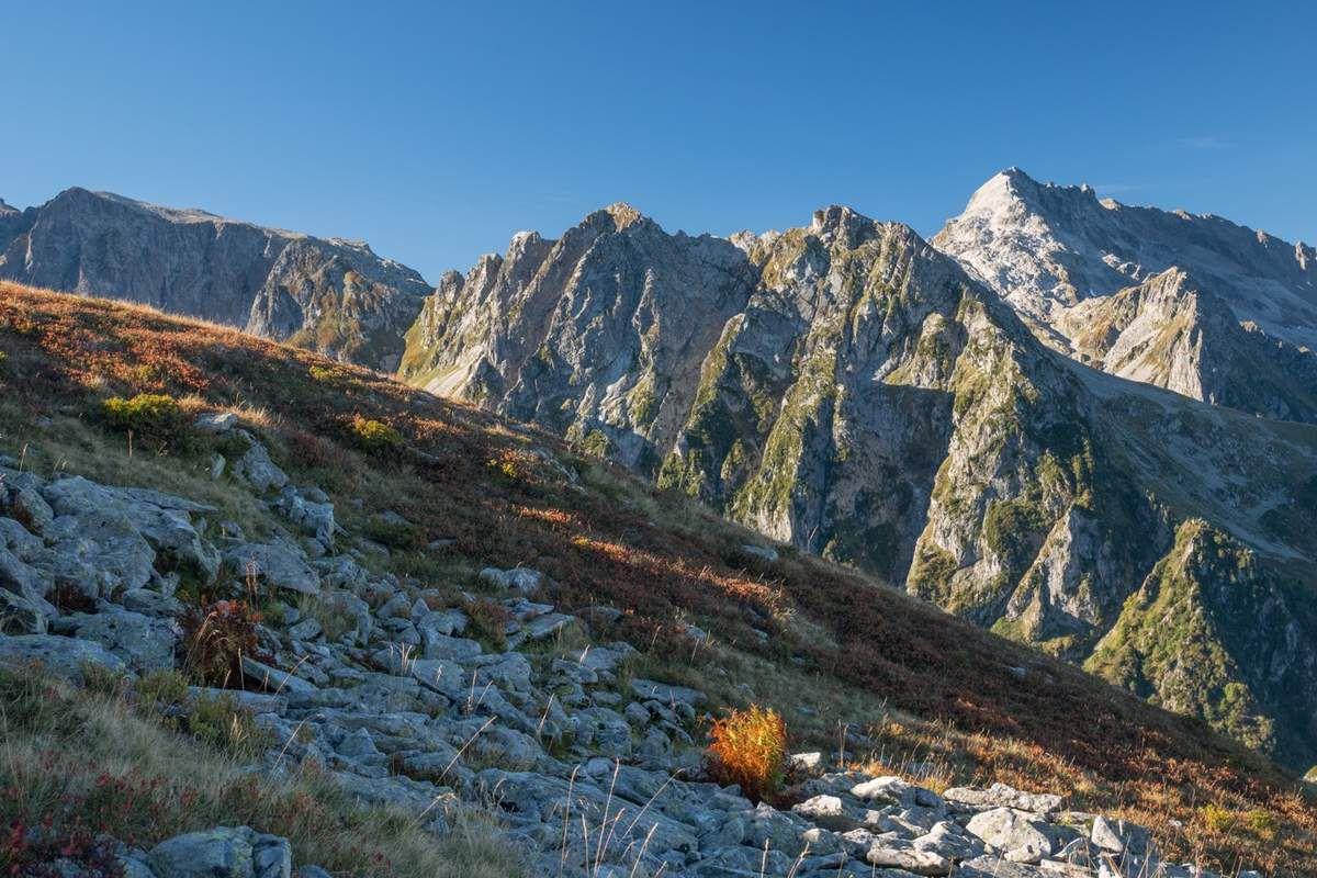 Ambiance d'automne en montagne