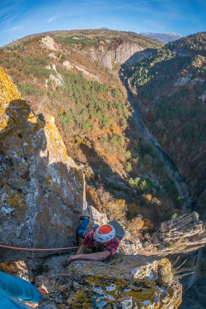 Du R9 (R6 pour nous) : François en termine avec plus de cinquante mètres soutenus