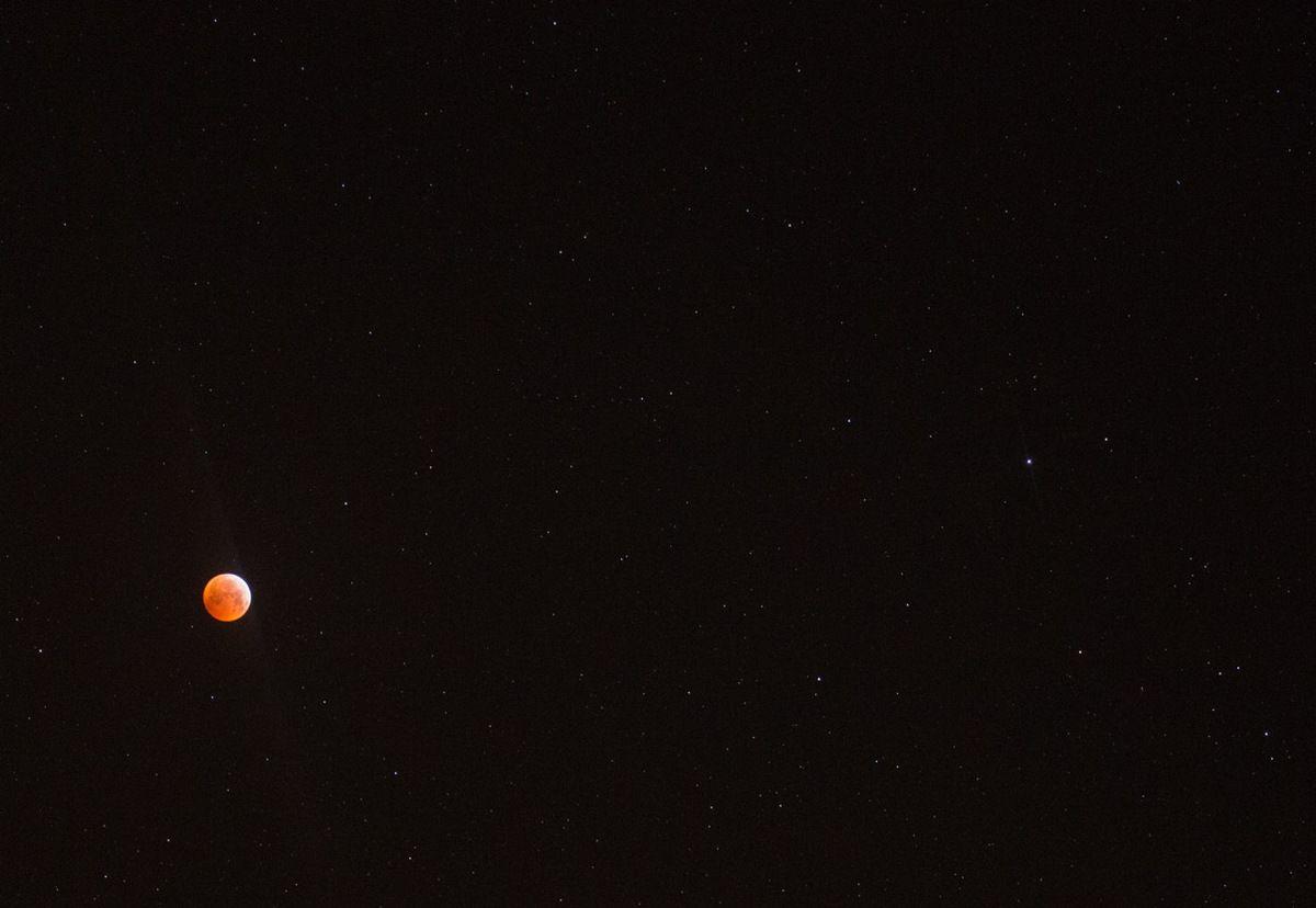 La lune rousse et les étoiles