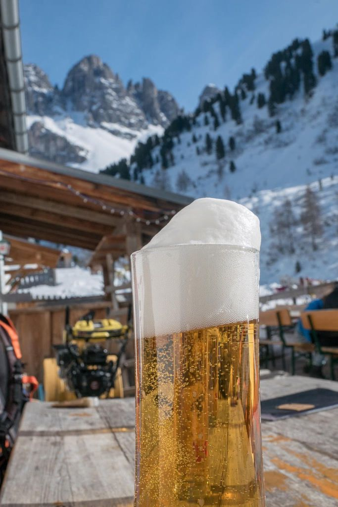 La bière (et +) à Kemater Alm