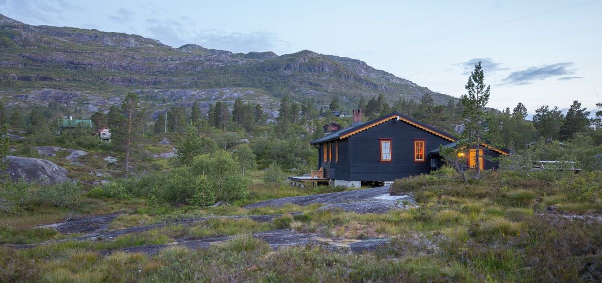 J6 : cabane en pleine nature du côté de Odda