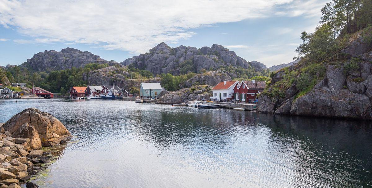 Petit port au sud d'Egersund
