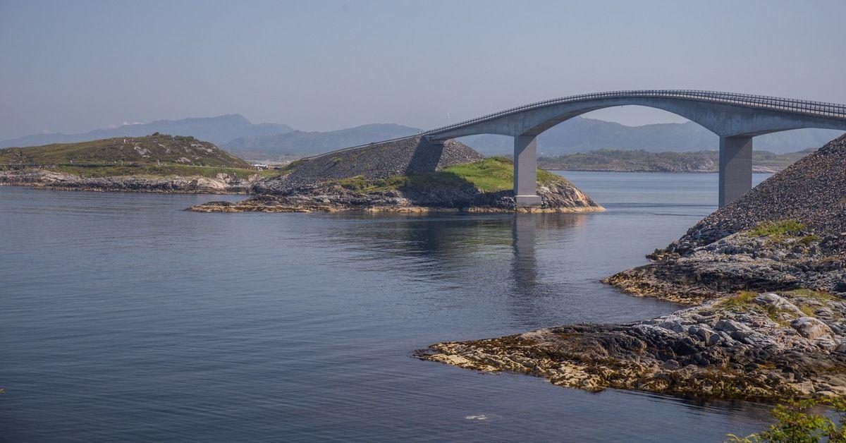 Pont sur la route de l'Atlantique
