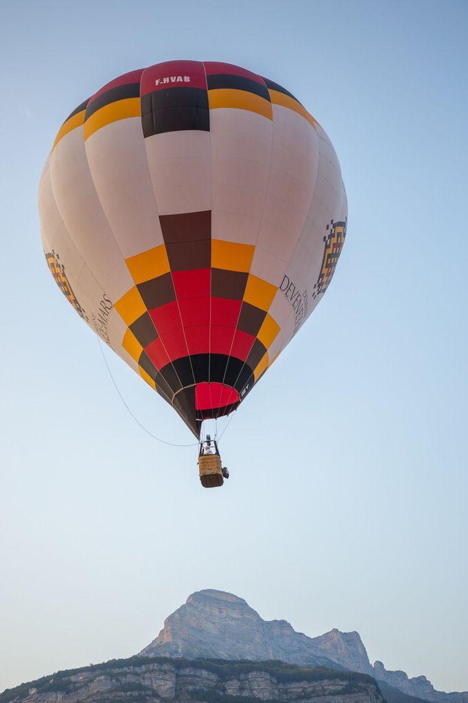 Les montgolfières de la coupe Icare