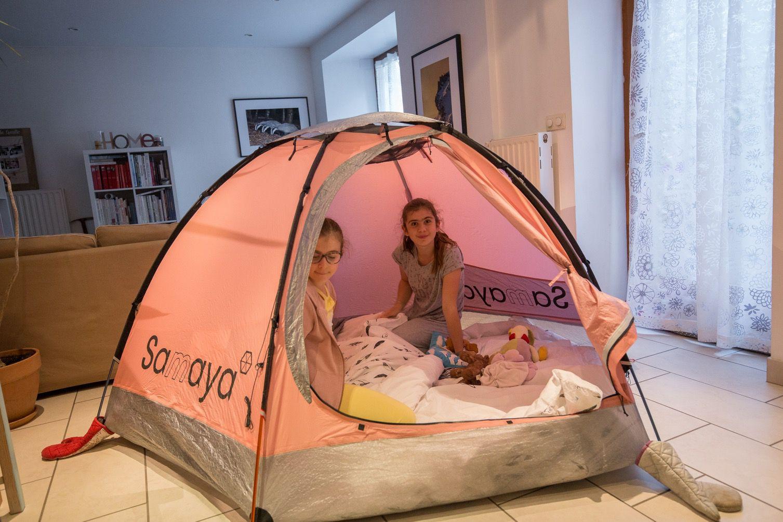 Montage de la tente Samaya. Prise en main intra muros en attendant mieux. Tente 4 saisons. 2-3 places, 1600 g.