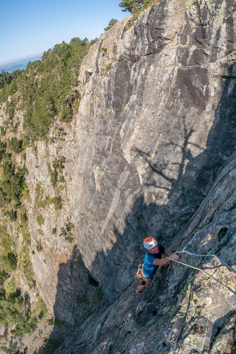 Escalade à la Petite Corse