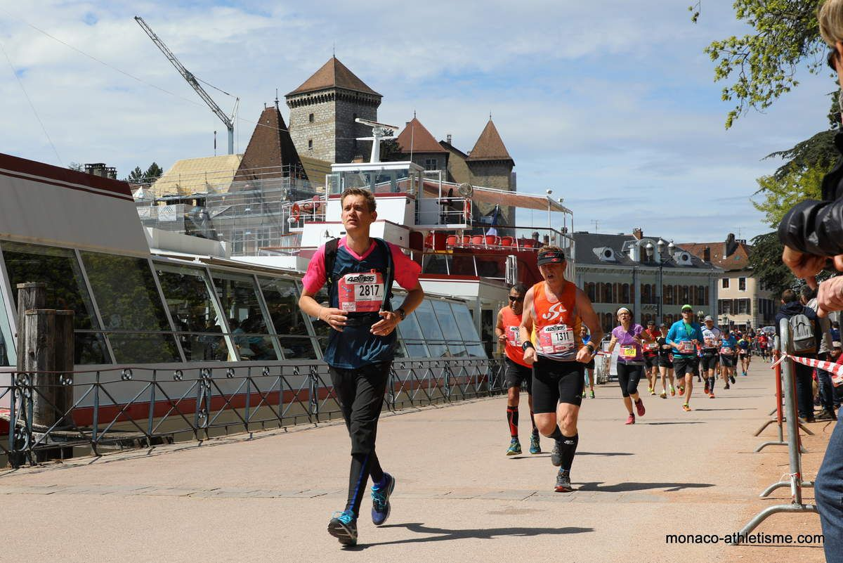 photos marathon d annecy 2017