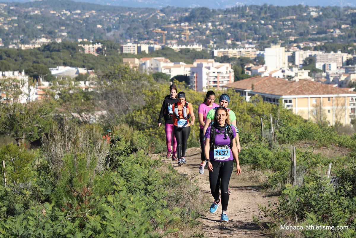 photos de l urban trail de cannes 2018