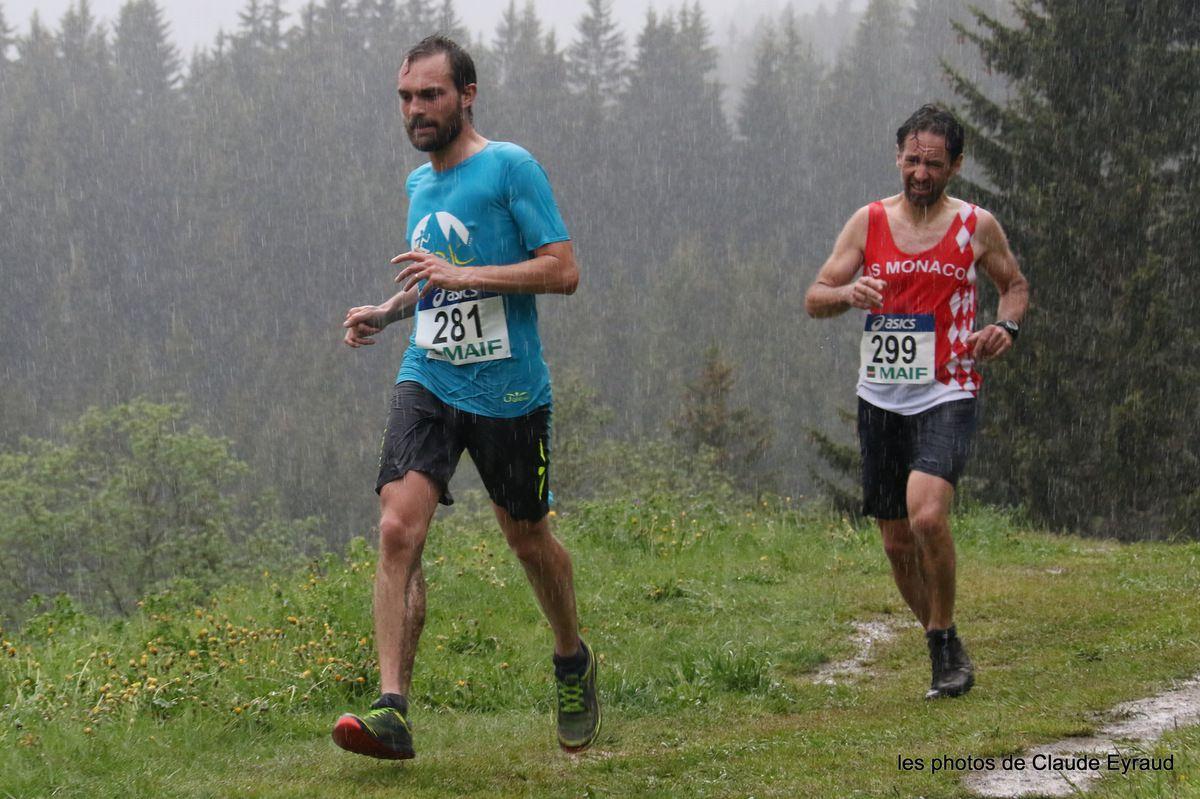 championnat de france de course en montagne a saint gervais (74 )
