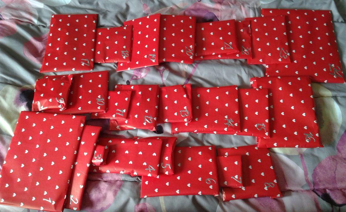 paquets et petits cadeaux