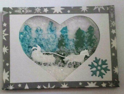 """Echange ATC """"coeur d'hiver"""" chez Line21"""