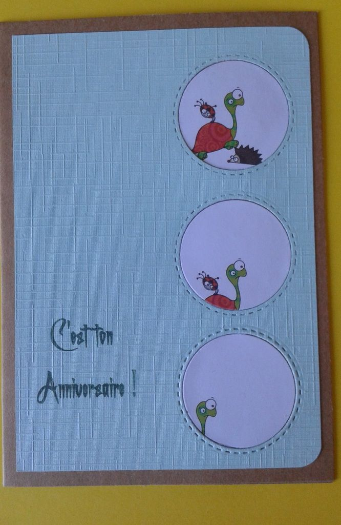 carte made by manou pour l'occasion