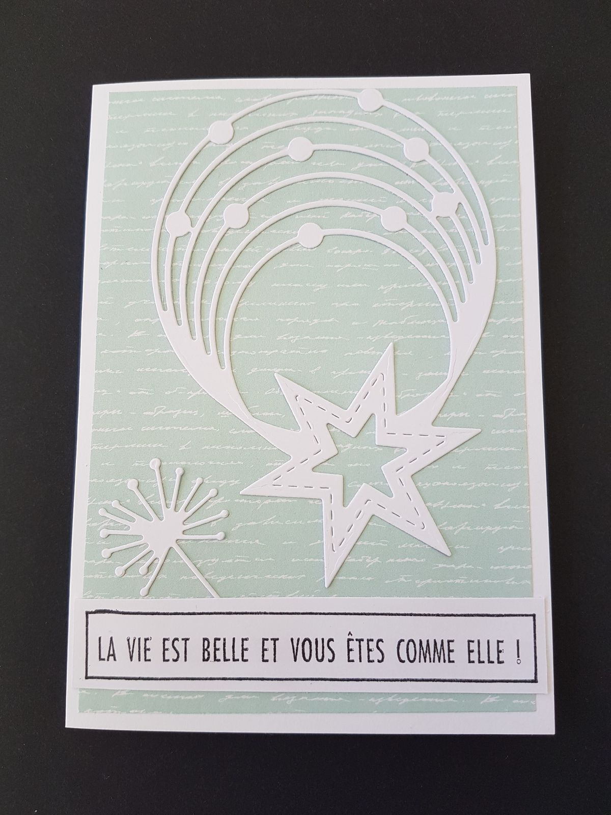 Défi n°620 sur le blog PASSION CARTES CREATIVES