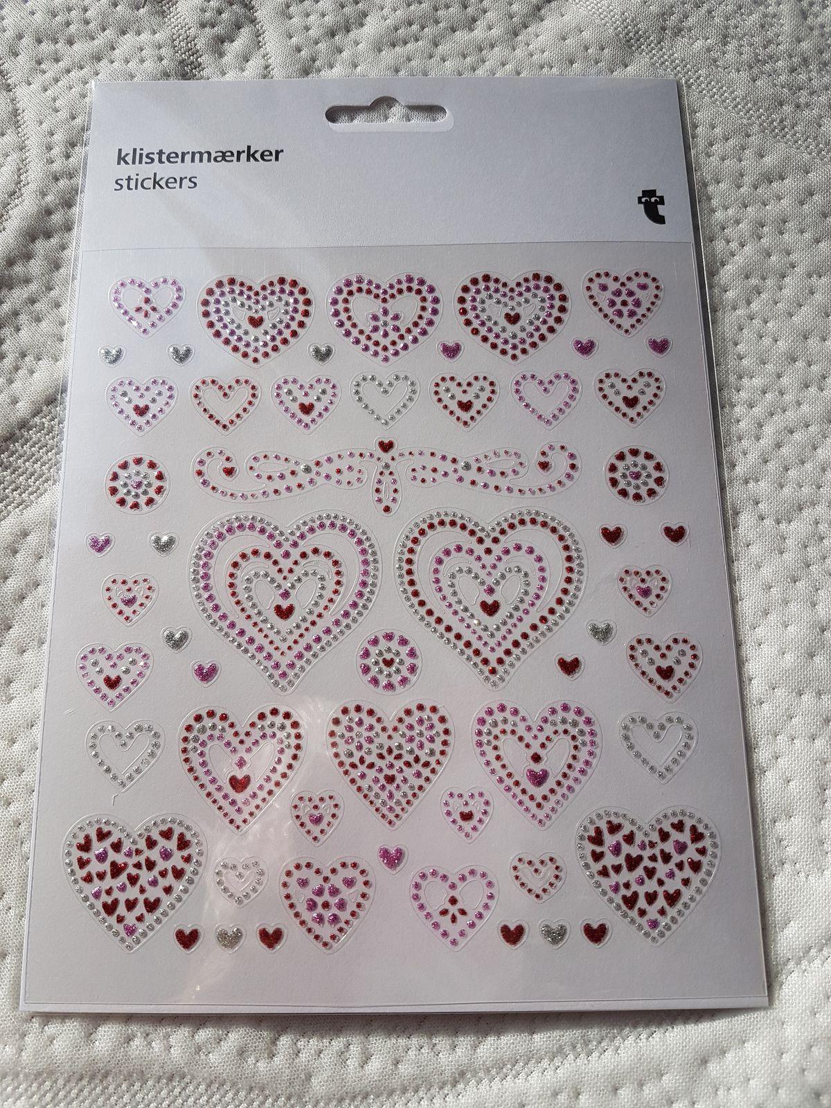 """Echange n°04 """"1 planche de stickers"""" - envoi/réception n°05/06/07"""