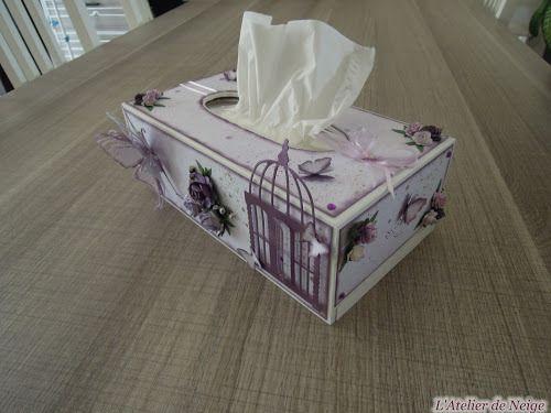 101 - Boîte à Mouchoirs Parme
