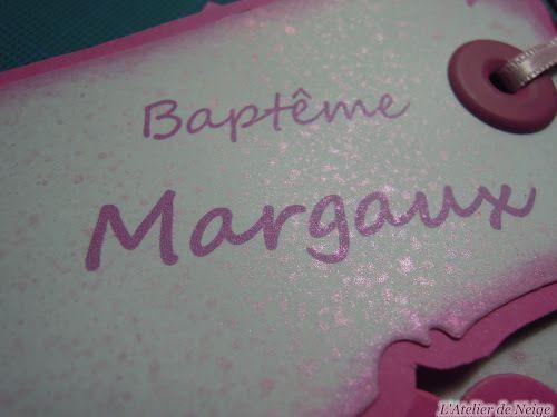 094 - Faire-Part Baptême Margaux 9 sept 2017