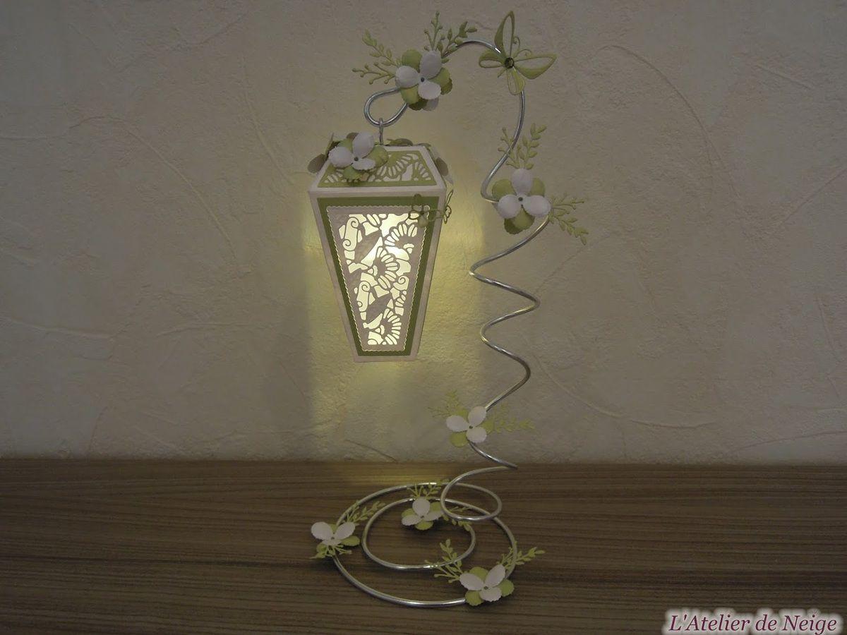 199 - Lanterne Blanche et Anis