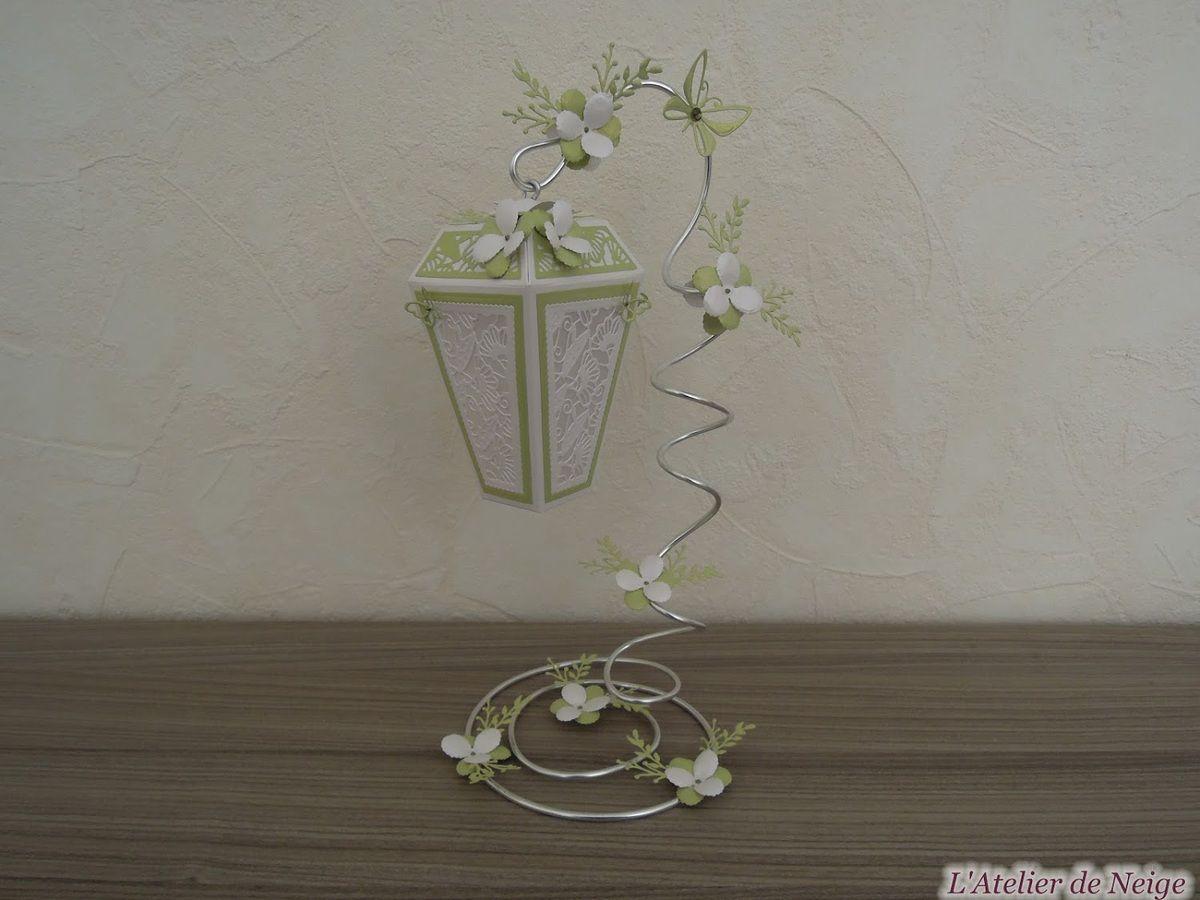 193 - Lanterne Blanche et Anis
