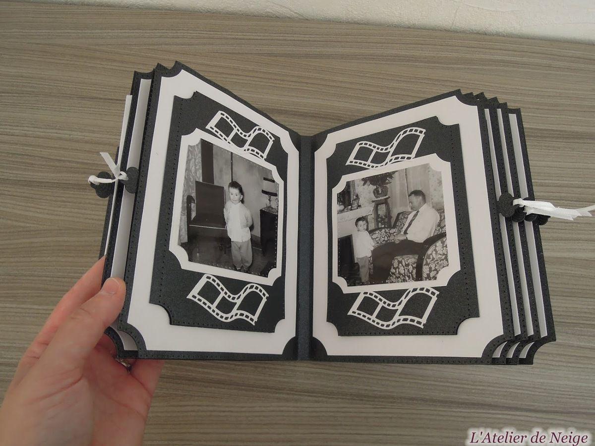 089 - Mini-Album Memories Noir et Blanc