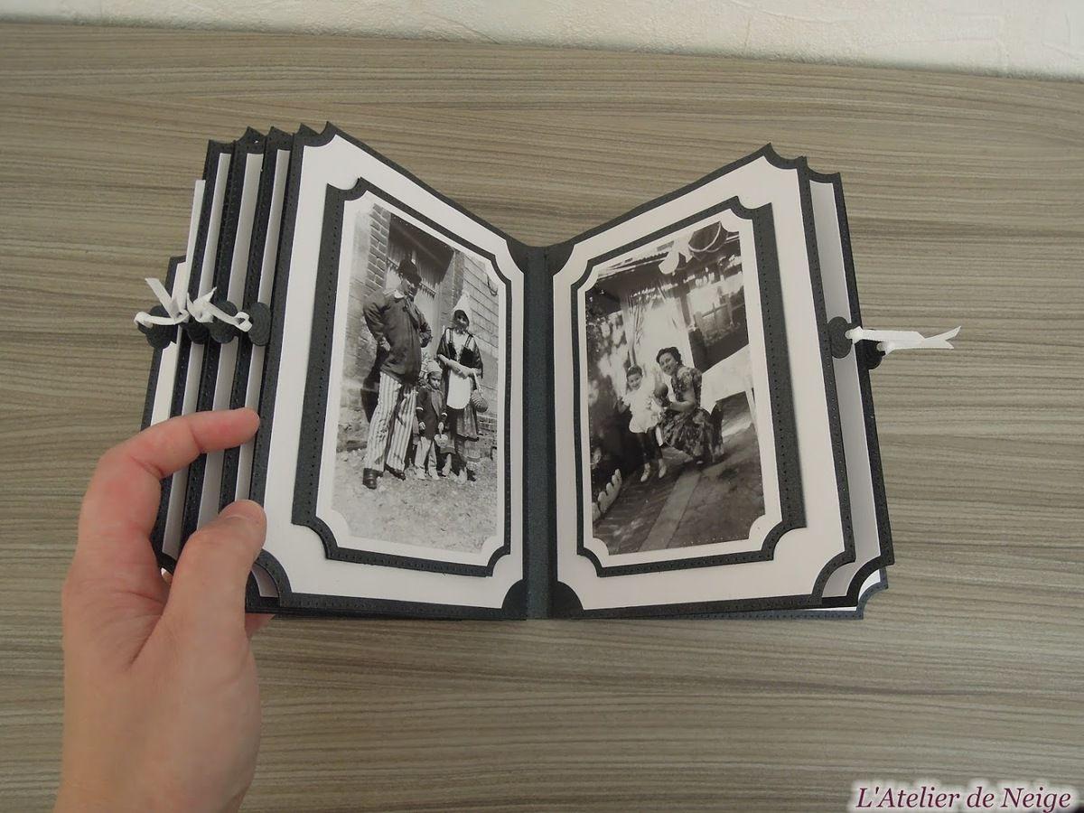 091 - Mini-Album Memories Noir et Blanc