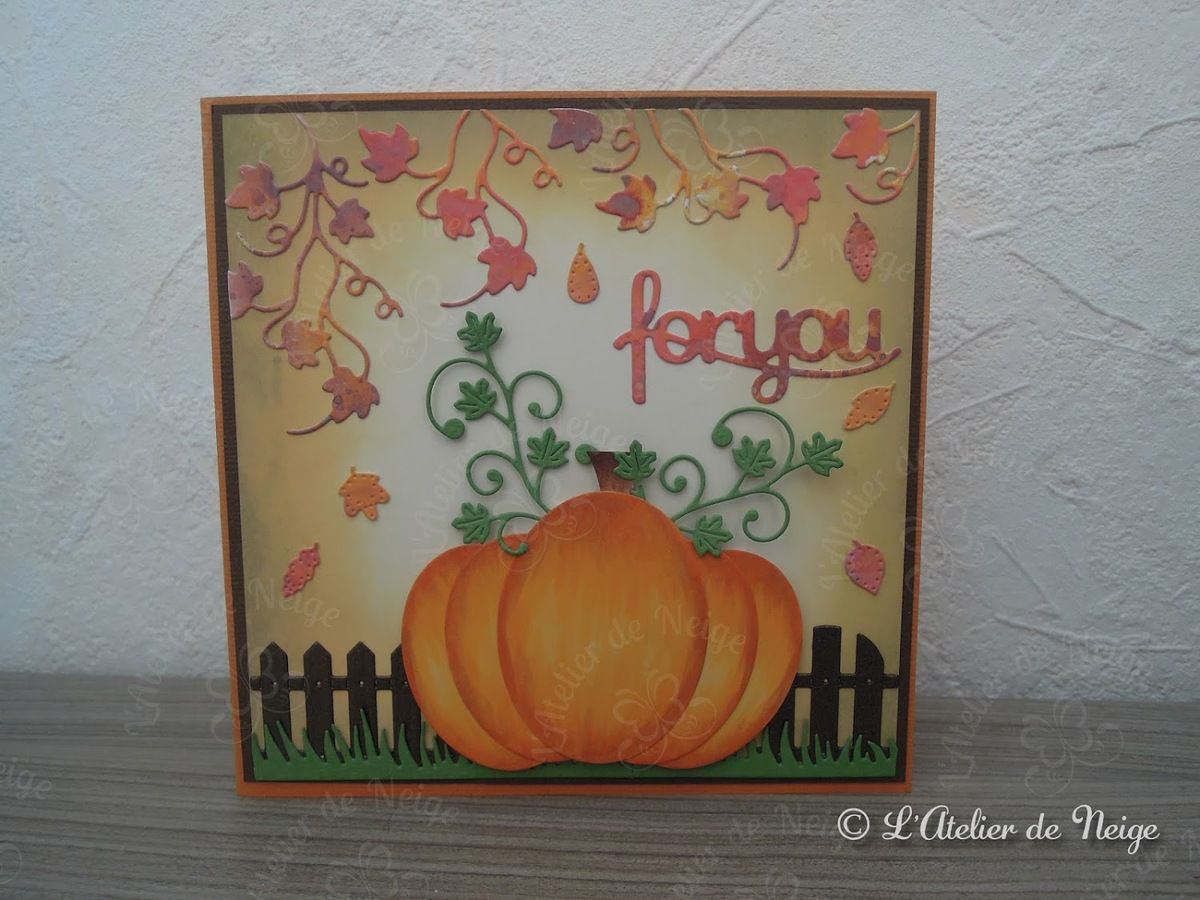 522 - Carte For You Automne