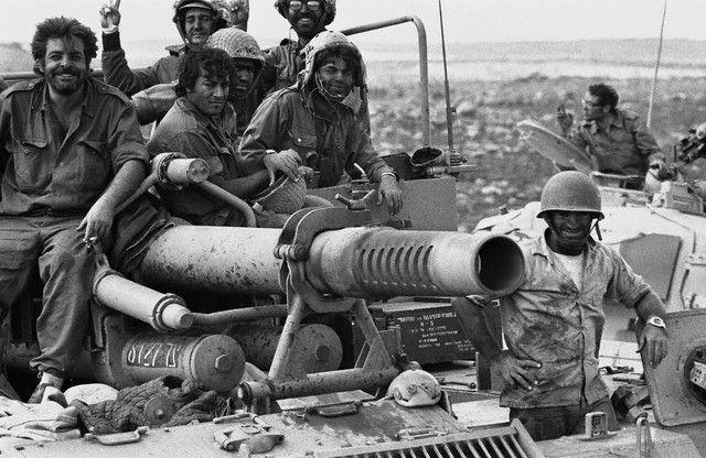 Tankistes Israéliens en 1973