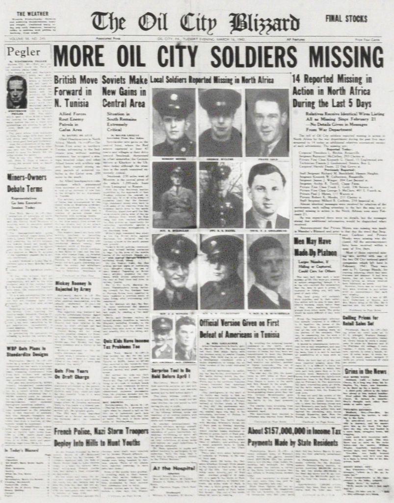 HEIA SAFARI ! Kasserine , 14 février 1943 : Hebt jetzt ein großes Jagen an mit lautem Halali !