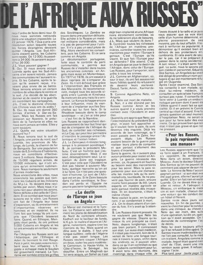 Constantes géopolitiques - Centrafrique : La Russie s'intéresse au TSAR Français !