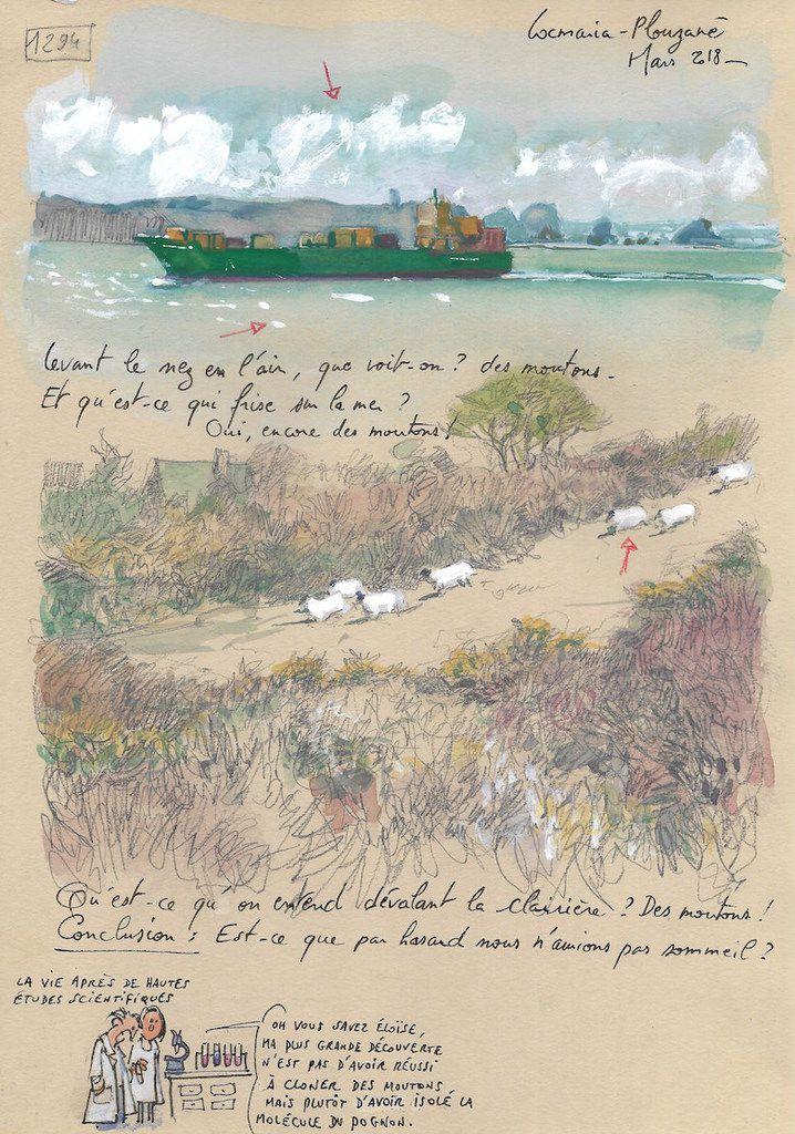 Une Bretagne par les Contours / Locmaria-Plouzané